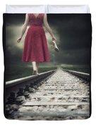 Railway Tracks Duvet Cover