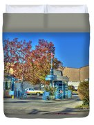 Raleigh Studios Hollywood Ca Film Production Stages Duvet Cover