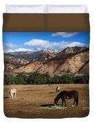 Rancho Oso - California Duvet Cover