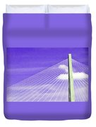 Ravenel Bridge # 2 Duvet Cover