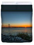 Charleston Sundown Duvet Cover