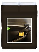 Record Player Duvet Cover by Les Cunliffe