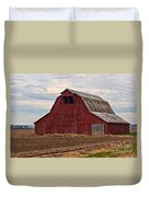 Red Barn Duvet Cover