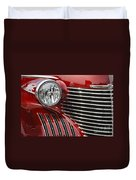 Red Cadillac Duvet Cover