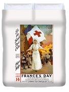 Red Cross Poster, 1915 Duvet Cover