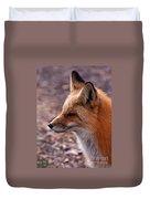 Red Fox In Prospect Park Duvet Cover