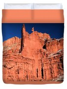 Red Rock Fisher Towers Duvet Cover