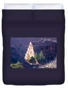 Red Rocks Open Space Duvet Cover