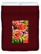 Red Roses Duvet Cover