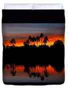 Red Skies  Duvet Cover
