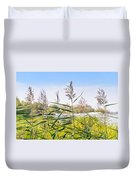 Reed Flowers Duvet Cover