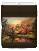 Reflections Of October Duvet Cover