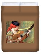 Renoir's Young Spanish Woman With A Guitar Duvet Cover