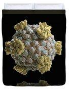 Reovirus Core Duvet Cover