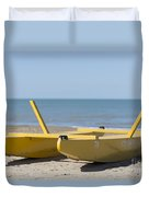 Rescue Boat Duvet Cover