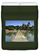 Resort Duvet Cover by Bruce Bain