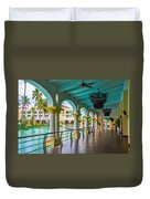 Resort In Dominican Republic Duvet Cover