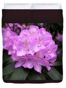 Rhododendron  ' Roseum Elegans ' Duvet Cover