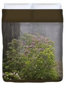 Rhododendron In Del Norte State Park, Ca Duvet Cover