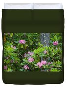 Rhododendron Duvet Cover