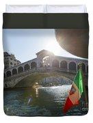 Rialto Bridge Duvet Cover