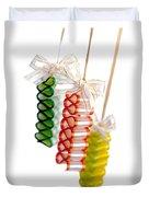 Ribbon Candy Duvet Cover