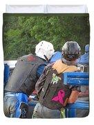 Ride Em Duvet Cover