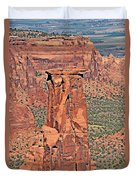 Rim Rock Colorado Duvet Cover