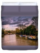 River Medway Duvet Cover