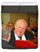 Rob Ford Duvet Cover