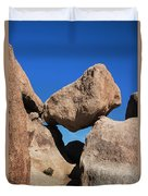 Rock Formation - Joshua Tree National Park Duvet Cover
