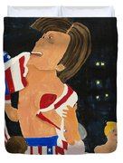 Rocky Balboa Duvet Cover by Don Larison