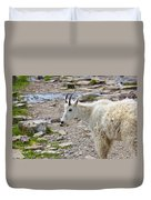 Rocky Mountain Goat Duvet Cover