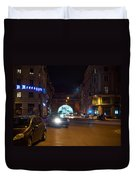 Rome By Night Duvet Cover