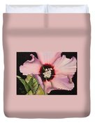 Rose Of Sharon Duvet Cover