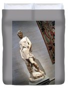 Rossellino's The David Of The Casa Martelli Duvet Cover