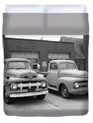Route 66 Classic Cars Duvet Cover