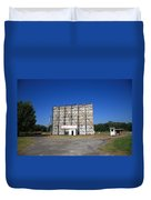 Route 66 Drive-in Movie Duvet Cover
