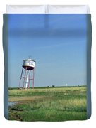 Route 66 - Leaning Water Tower Duvet Cover