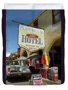 Route 66 - Oatman Arizona Duvet Cover
