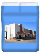 Route 66 - Odeon Theater Duvet Cover