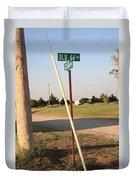 Route 66 - Oklahoma Duvet Cover