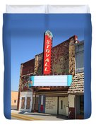 Route 66 - Stovall Theater Duvet Cover