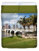 Royal Park Bridge Duvet Cover