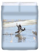 Running On The Water Duvet Cover