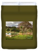 Rural Scene Duvet Cover by Carlos Caetano
