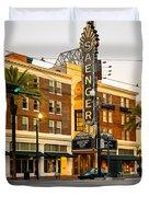 Saenger Theatre New Orleans Paint 2 Duvet Cover