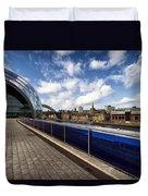 Sage Gateshead And Newcastle Skyline Duvet Cover