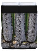Saguaro Cactus Close-up Duvet Cover