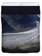 Salmon Glacier Duvet Cover